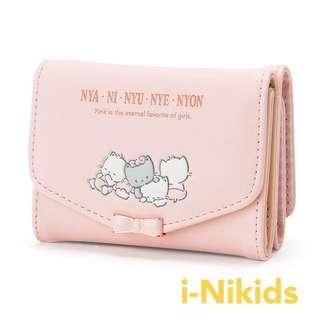 🇯🇵日本直送 - 原裝日版 Sanrio - Nya Ni Nyu Nye Nyon 短銀包