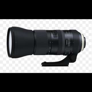 Tamron SP 150-600mm F5-6.3 Di VC USD G2 Lens