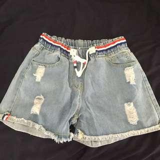 Women's High Waisted Shorts