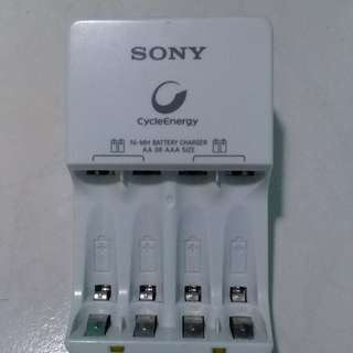 Used Sony Cycleenergy battery charger