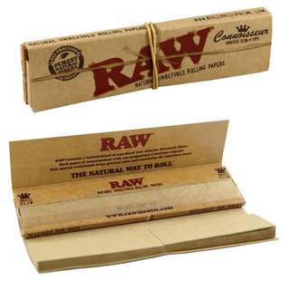 RAW ROLLING PAPER WITH TIP