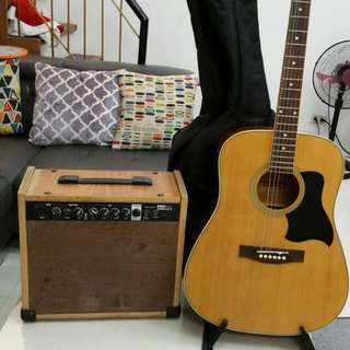 Guitar  RJ  with Amp