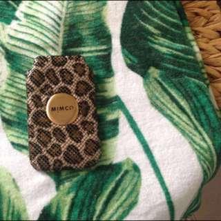 Mimco phone case iPhone 5/SE
