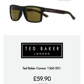 (全新 New) Ted Baker Contrast Arm Sunglasses (not Paul Smith)