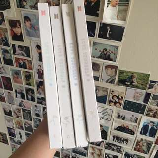 BTS Love yourself albums (no pc)