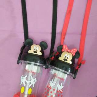 Minnie & Mickey Mouse Drinking bottle