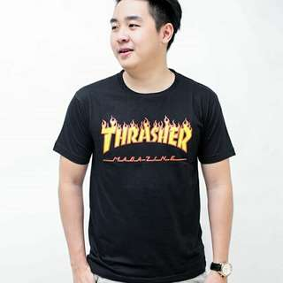 Thrasher kaos pria