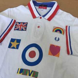 Fred perry X sir peter blake fall limited 1000ps