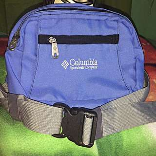 Columbia Blue Belt Bag (men/women)