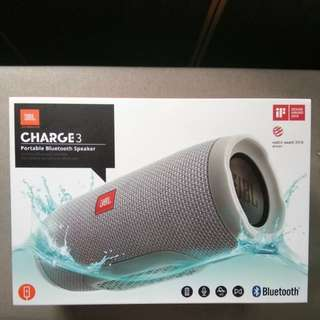 Jbl Charge 3 grey authentic