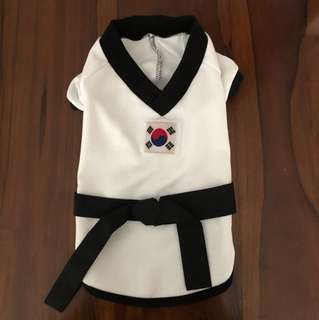 Brand New Korean Karate Top for Dogs