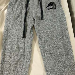 Mens Root Slim Sweatpants (X-Small, Salt & Pepper)