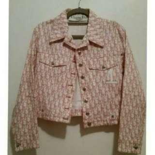 Dior 粉紅色絕版外套