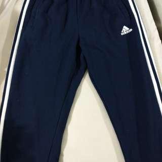 Mens Adidas Track Pants (Small, Navy)