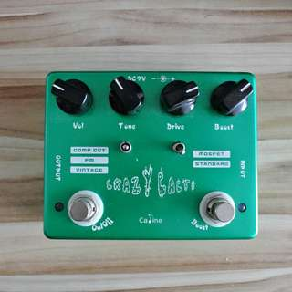 Caline CP-20 Crazy Cacti Overdrive Pedal
