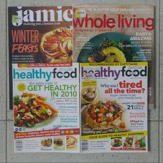 ONE LOT 27 issues of Cooking, Food Magazines
