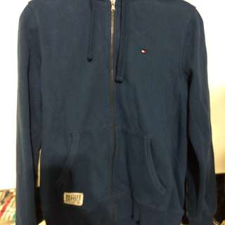 Tommy Hilfiger Hoodie (Small, Navy)