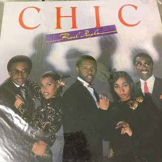 Chic vinyl record lp