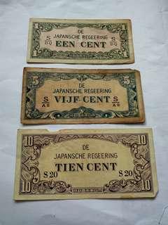 Uang kuno penjajahan Jepang