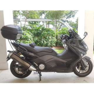 End 07/2012 TMAX 530 YAMAHA MAXI SCOOTER