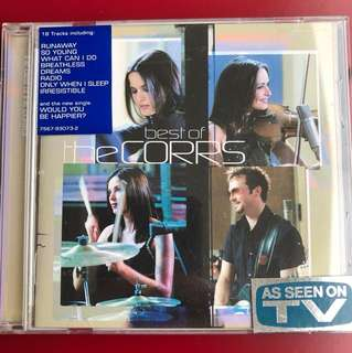 CD The best of the Corrs
