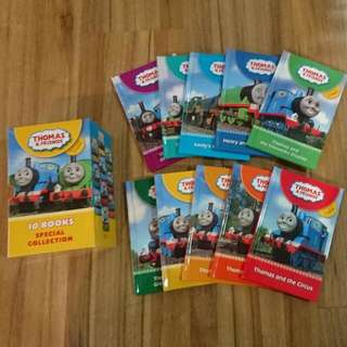 Thomas and Friends 10 books Special Edition Box Set Hardcover