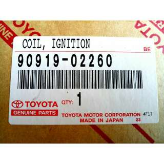 Coil Ignition T.Alphard