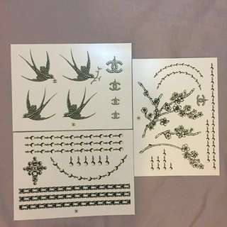🚚 CHANEL 香奈兒刺青貼紙