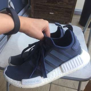 Adidas NMD R1 blue (womens)