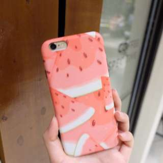 Iphone 6 watermelon case