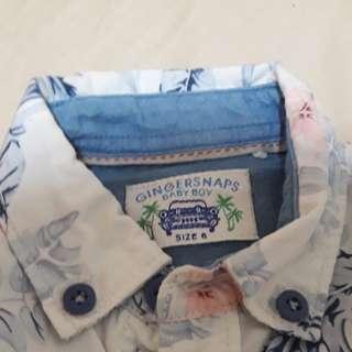 Infant apparel for boys