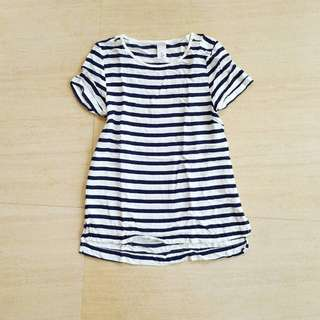 H&M Striped Loose Top