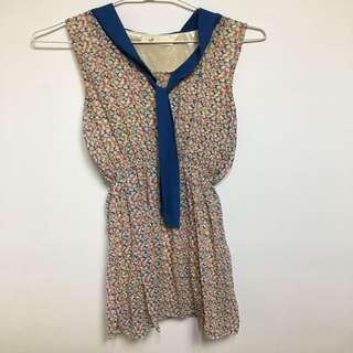 韓國買的蝴蝶結短洋裝