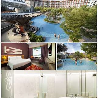 Hard Rock Hotel Sentosa staycation plus 动力火车 Concert tickets for 2