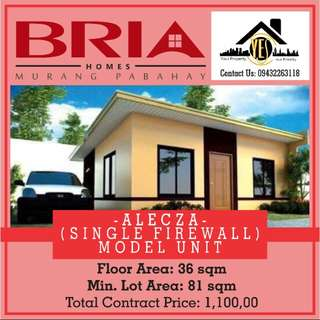 HOUSE AND LOT FOR SALE!! (Alecza Single Firewall)