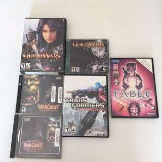 PC games 電腦遊戲