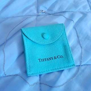 Tiffany&Co. 16吋細項鍊 單鍊 真品