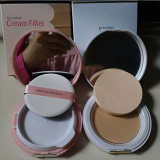 Any cushion, mineral compact