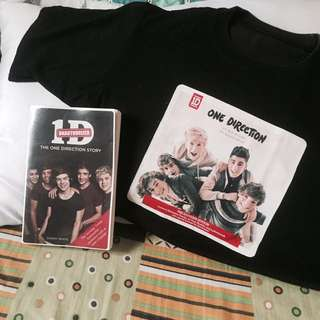 One Direction Book and Shirt