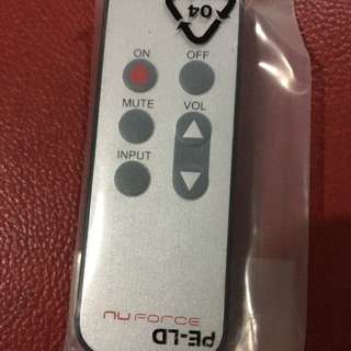 Nuforce remote control