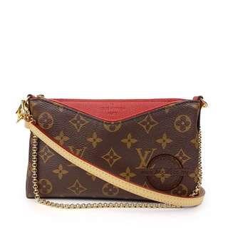 Authentic Louis Vuitton Pallas Pochette Lv
