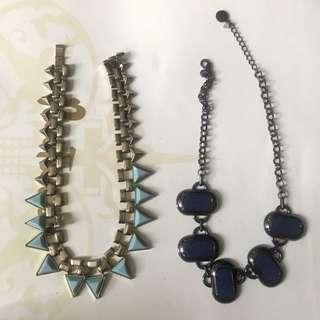F21 Necklace Set - 2 Necklace Bundle