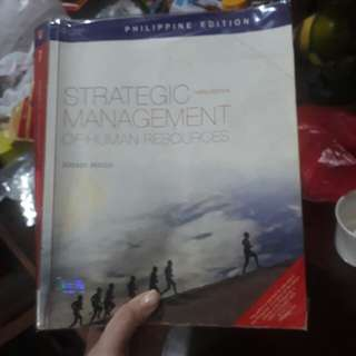 Strategic Management of Human Resources by Jeffrey Mello