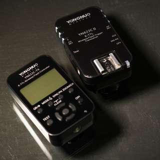 🚚 YN 622C 永諾 引閃器 觸發器 flash trigger