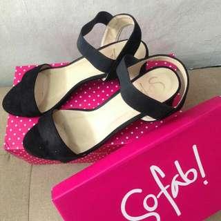 So Fab ankle block heels