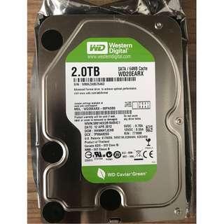 """WD Green 2TB 7200 RPM SATA 3.5"""" Internal HDD"""