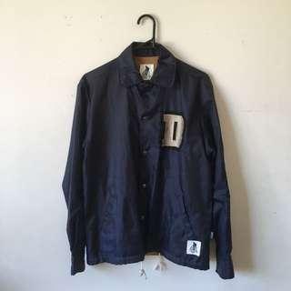 Navy coach jacket (mens)