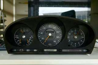 160mph Meter Cluster W116 / R107 S class and SL.