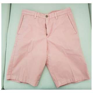 Uniqlo Old Rose Shorts (Size S; 68-76cm)