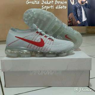 """Nike Air Vapormax Flyknit """"WHITE RED"""""""